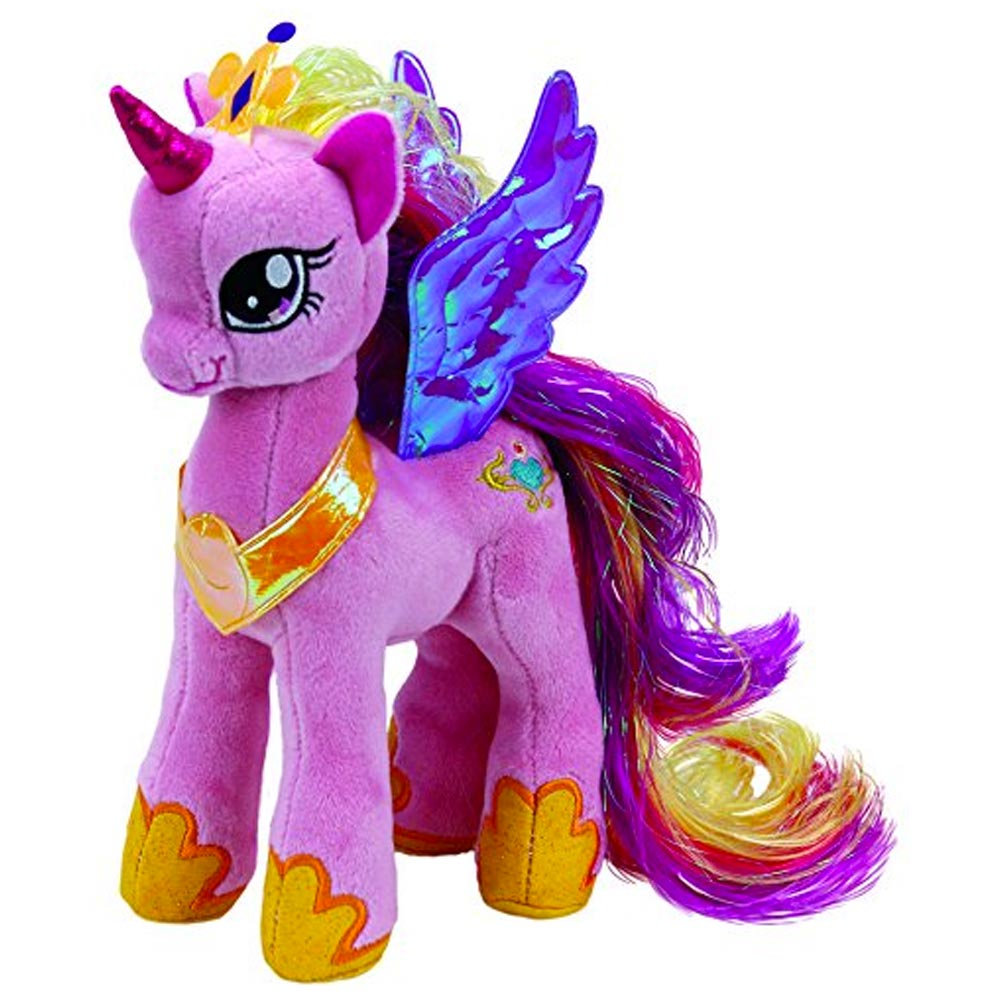 Ty TY41183 My Little Pony - Princess Cadance Soft Toy - 20 ...