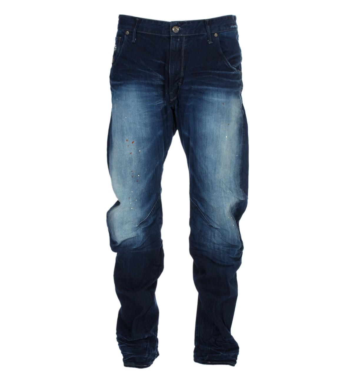 g star arc 3d loose tapered medium aged jeans pillar denim. Black Bedroom Furniture Sets. Home Design Ideas