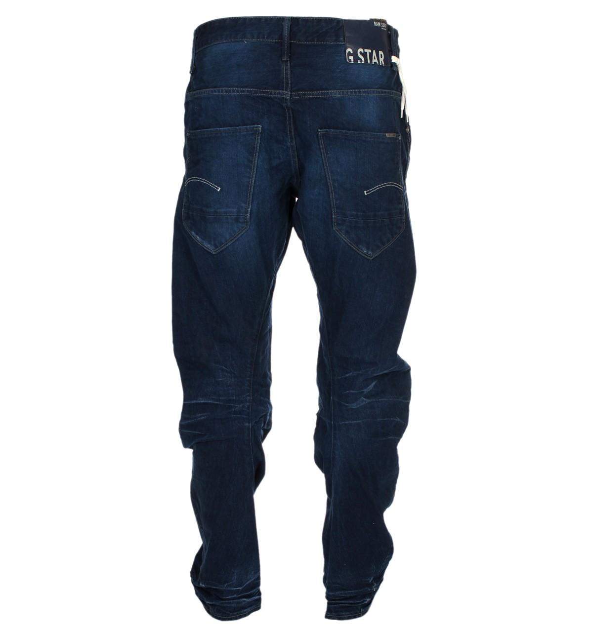 2fd37d830e0 G-Star Arc 3D Loose Tapered Medium Aged Pillar Denim Jeans