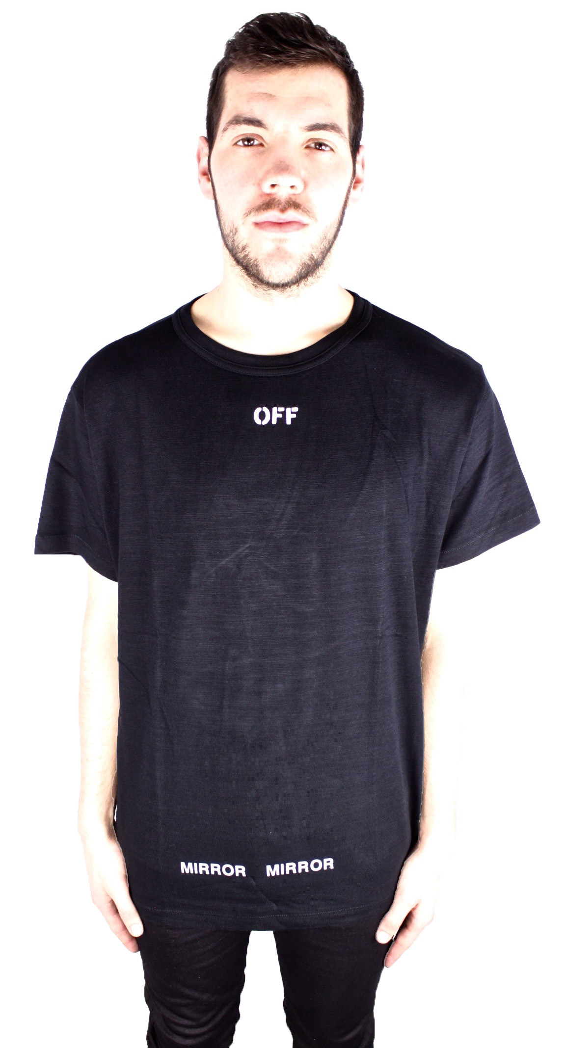 50a6b63bb Off-White Care Off Print Tee OMAA002 S17001128 1001 T-Shirt ...