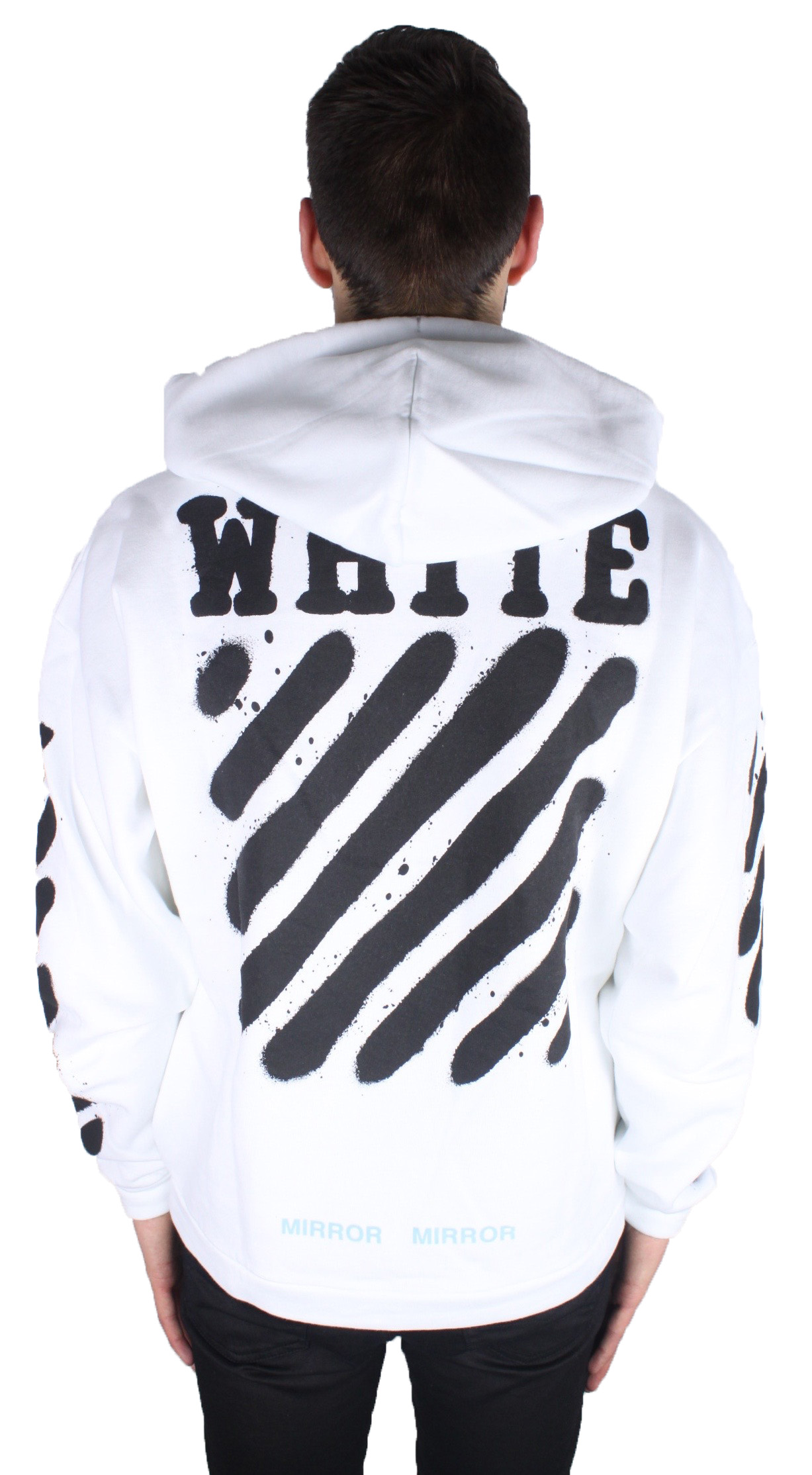 White Spray Hoodie Sale Classic Outlet With Mastercard From China Online Cheap Footaction Big Sale xulEXdy