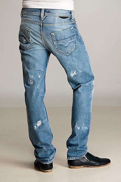 Diesel-Mens-Jeans-Heeven-0071J-Blue thumbnail 3