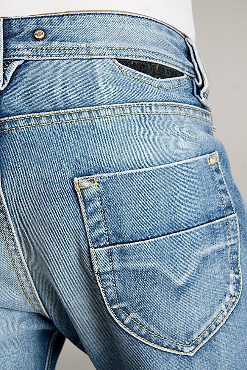 Diesel-Mens-Jeans-Heeven-0071J-Blue thumbnail 4