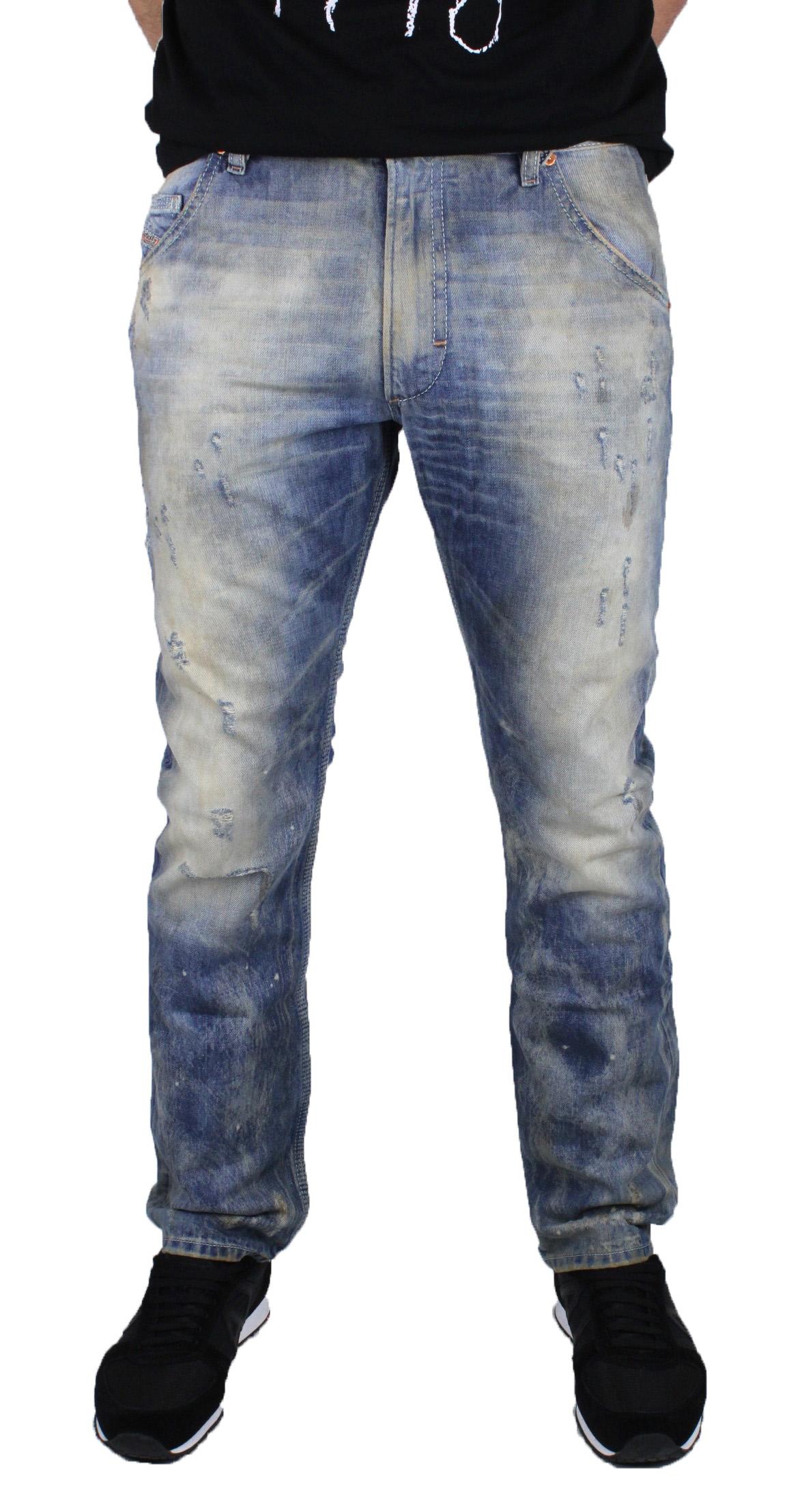 Diesel Mens Jeans Krooley 0886P bluee