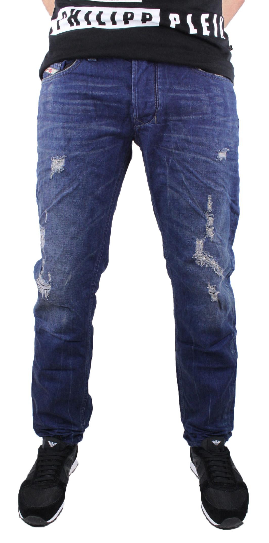 Diesel Mens Jeans Larkee-T 0881Z bluee