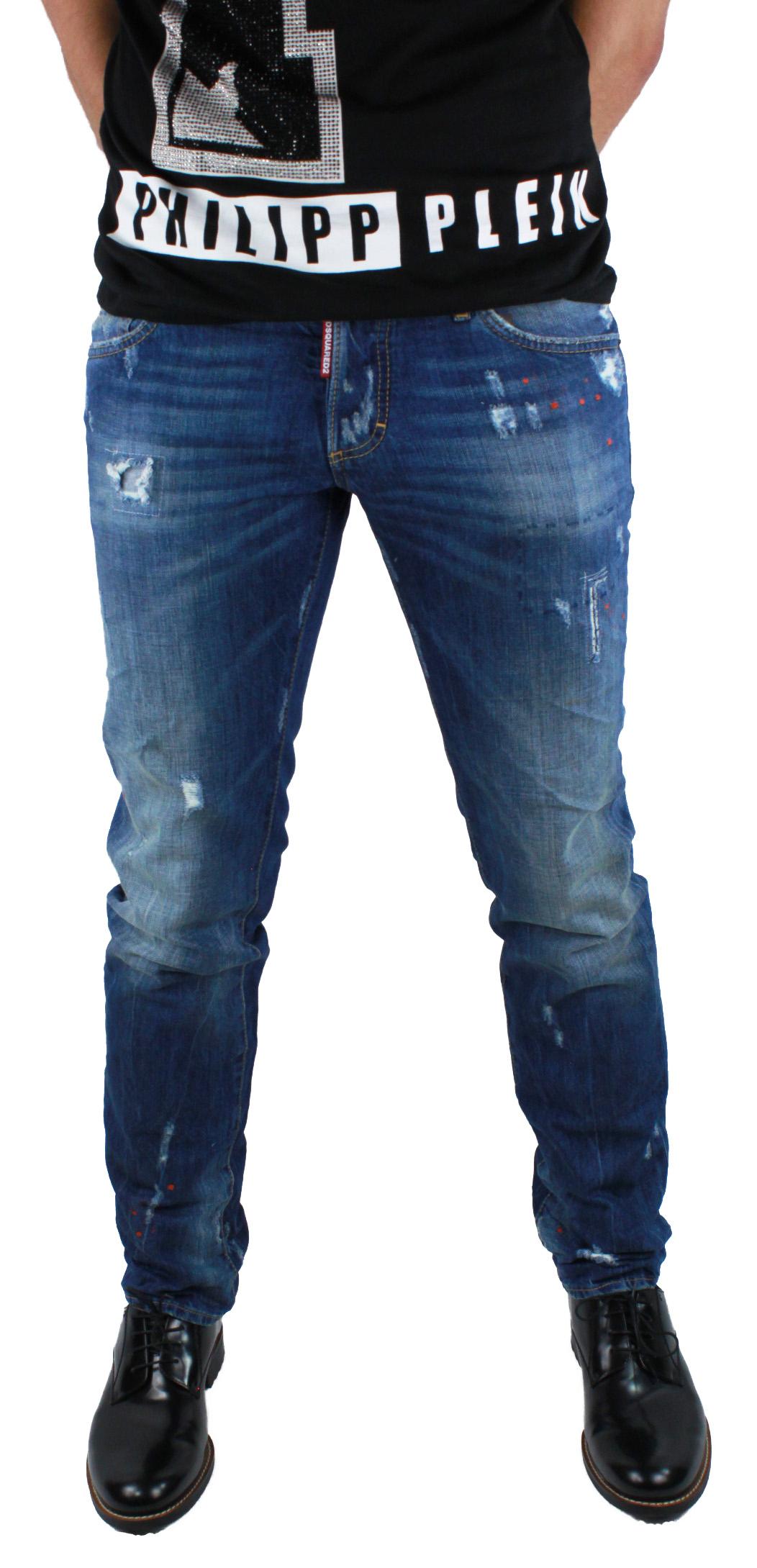 DSquared2 Slim S74LA0918 S30309 470 Jeans blue Dsquared D2 men