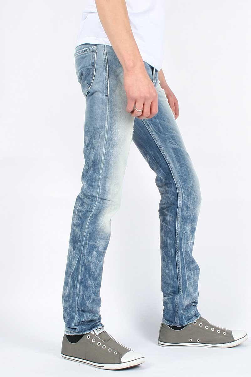 Diesel Herren Herren Herren Rhrenjeans Shioner 0074Z Jeans 6d64eb
