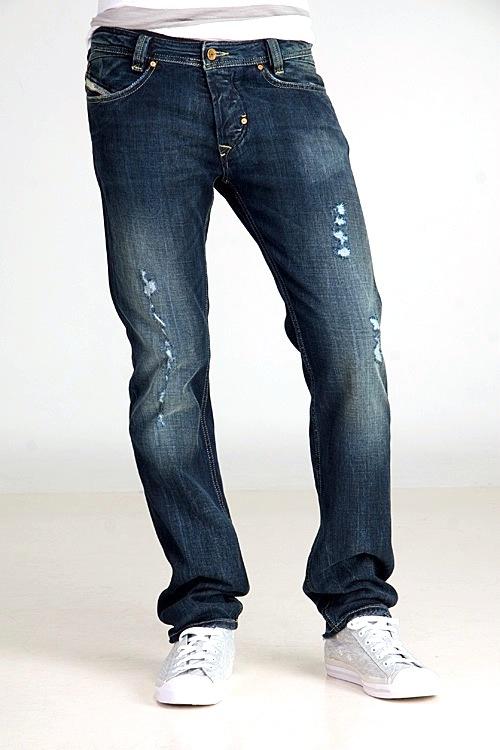 Diesel Mens Jeans Slammer 008II bluee