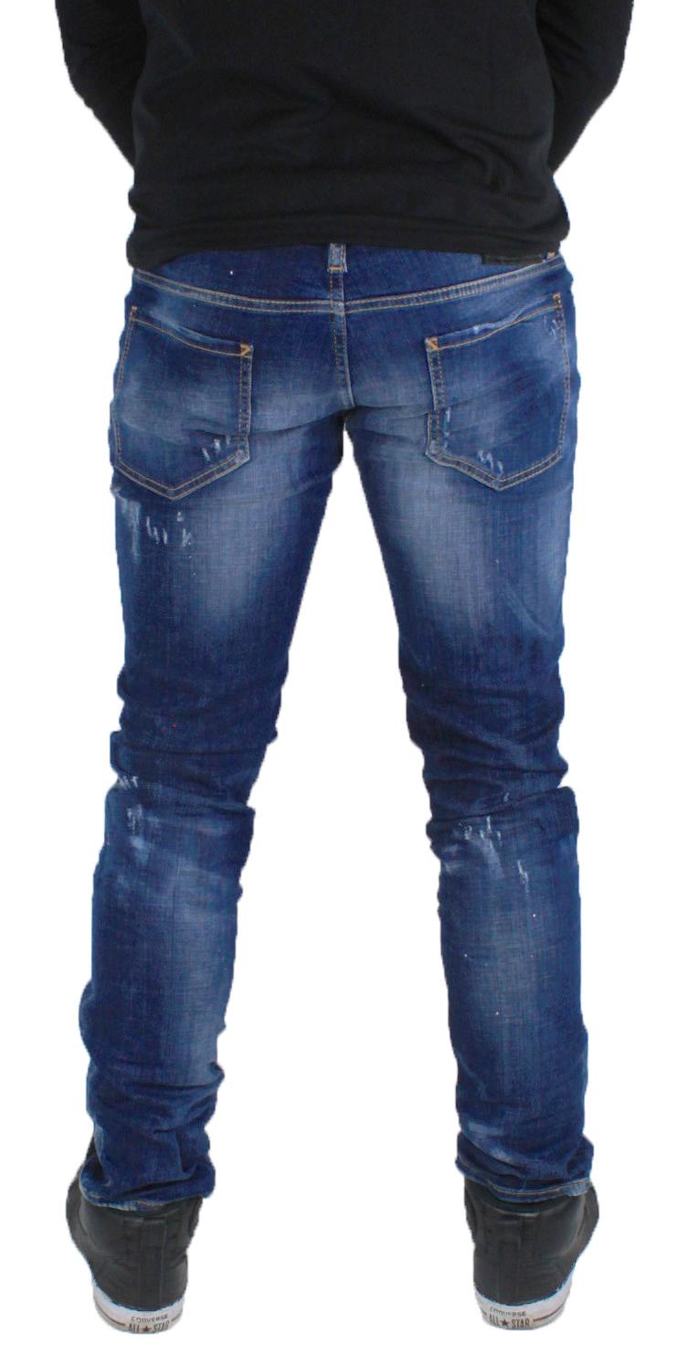 976478754d Details about DSquared2 Slim S71LB0192 S30342 470 Jeans