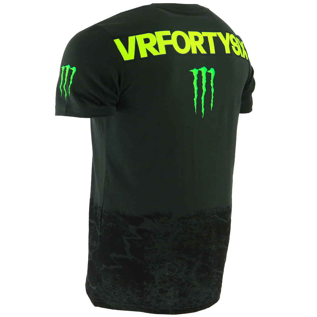 Valentino Rossi Vr46 Moto Gp Monster Energy Monza Rally T