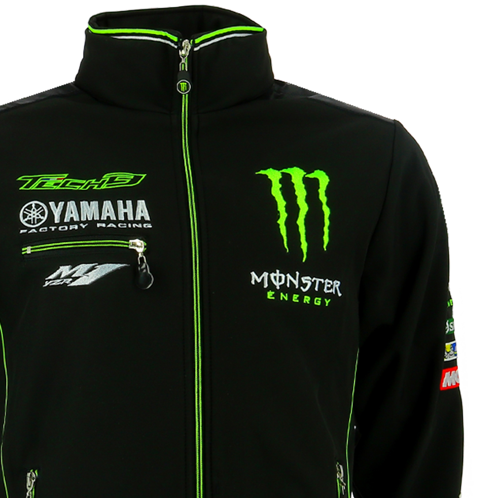 tech 3 yamaha monster moto gp racing team soft shell. Black Bedroom Furniture Sets. Home Design Ideas