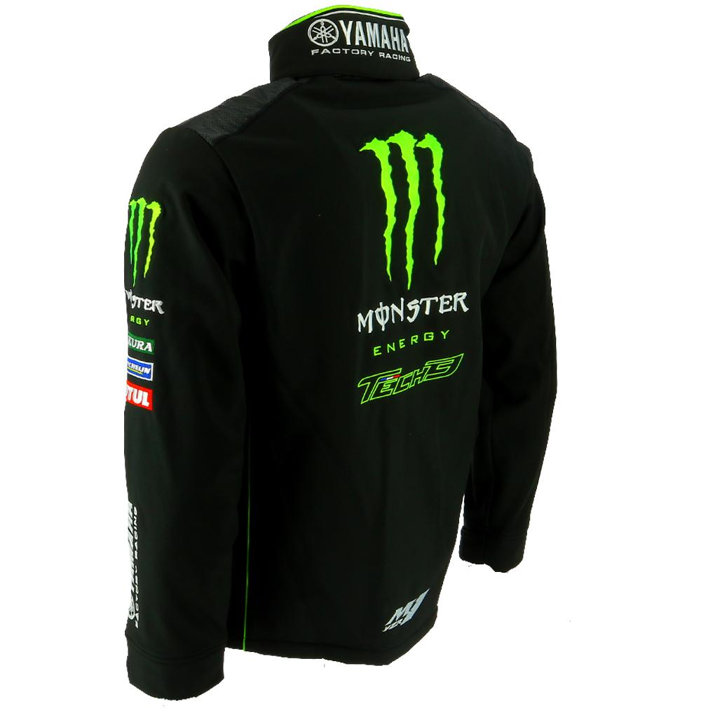 Tech 3 Yamaha Monster Moto Gp Racing Team Soft Shell