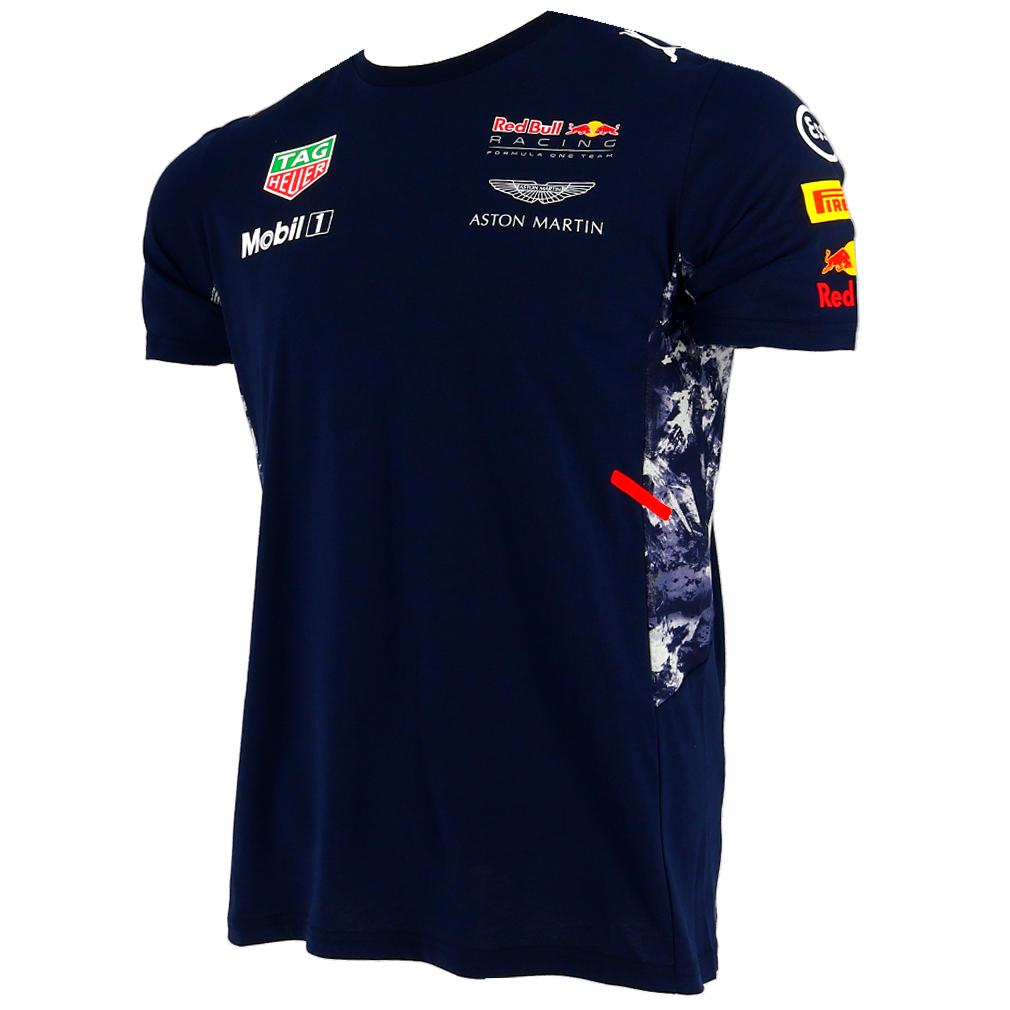 red bull infiniti f1 racing team drivers puma t shirt official 2017 ebay. Black Bedroom Furniture Sets. Home Design Ideas