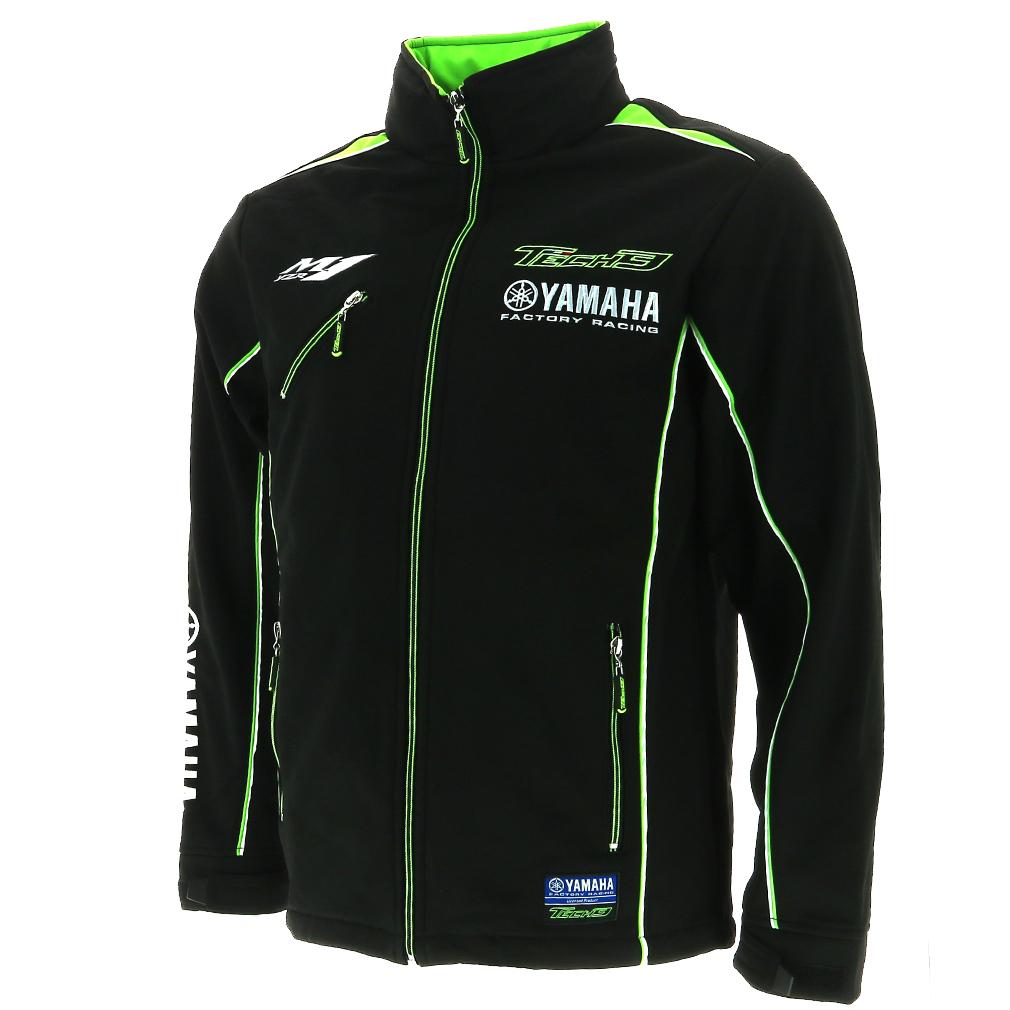 Tech 3 Yamaha Moto Gp Racing Team Soft Shell Jacket
