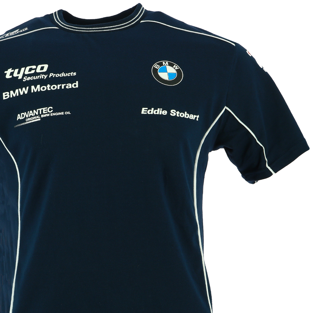 Tyco bmw british superbike international racing custom t for Racing t shirts custom