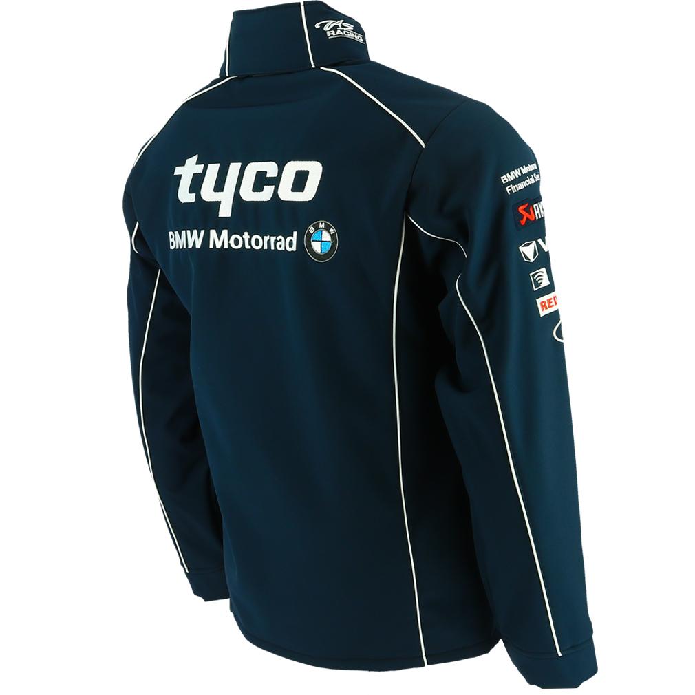 tyco bmw british superbike /& international racing softshell jacke