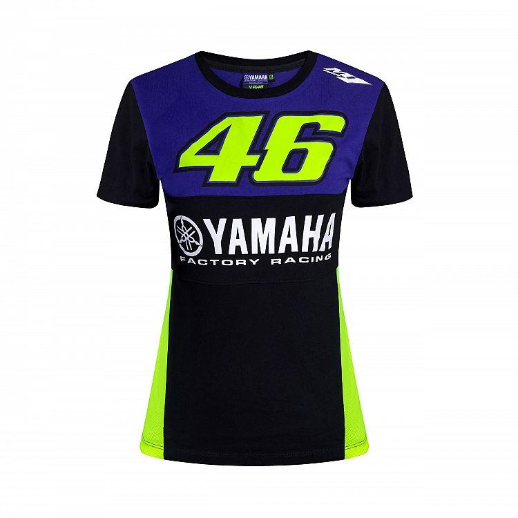 Rossi T-Shirt pour Femme Yamaha