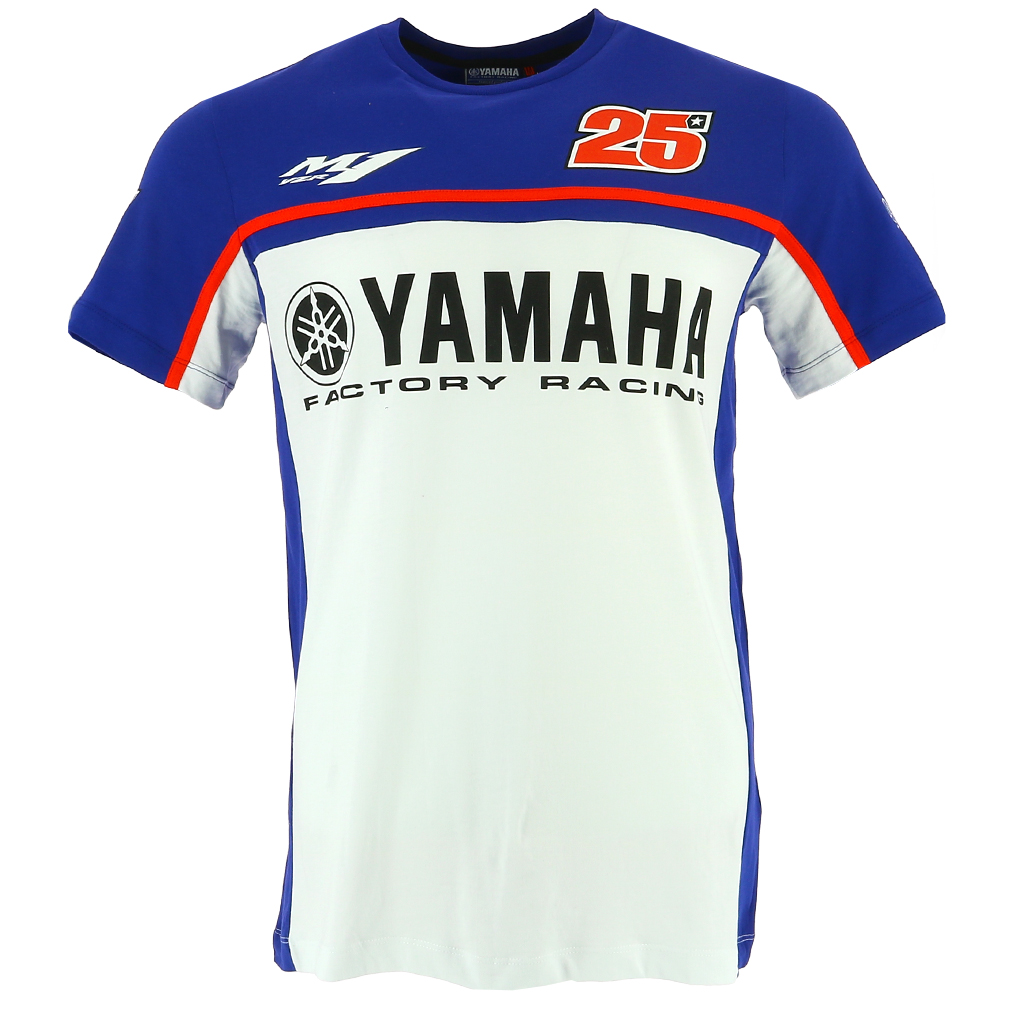 Maverick Vinales 25 Moto Gp Yamaha Factory Racing T Shirt