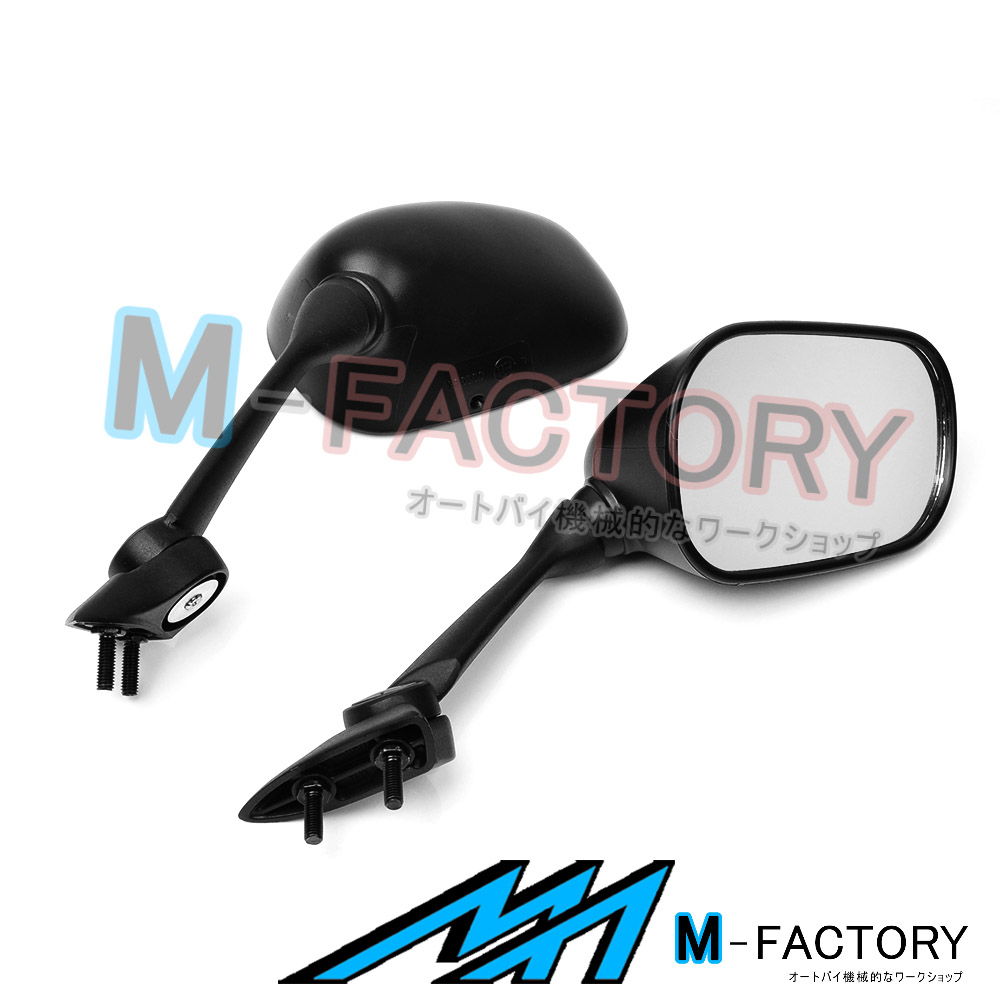 US Black Side Aftermarket Mirrors For Yamaha YZF R1 09-14 10 11 12 13