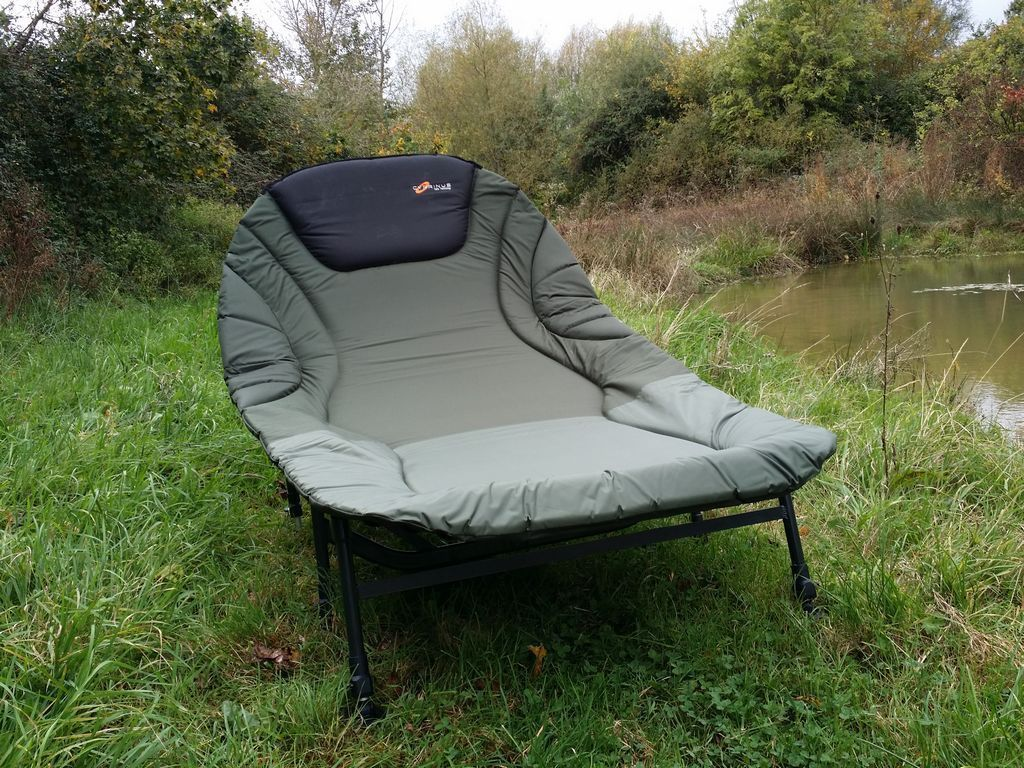 75b3513a663 Double 2 man Wide Guy Large 8 leg Carp fishing camp bed chair bedchair