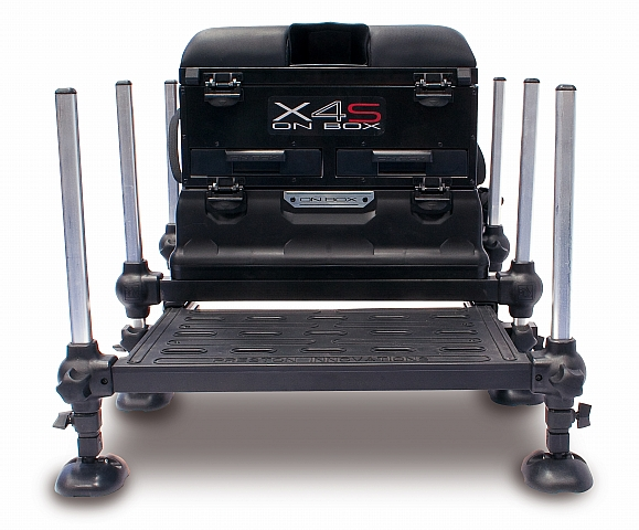 Preston Innovations X4S Match Fishing Seat Box | eBay