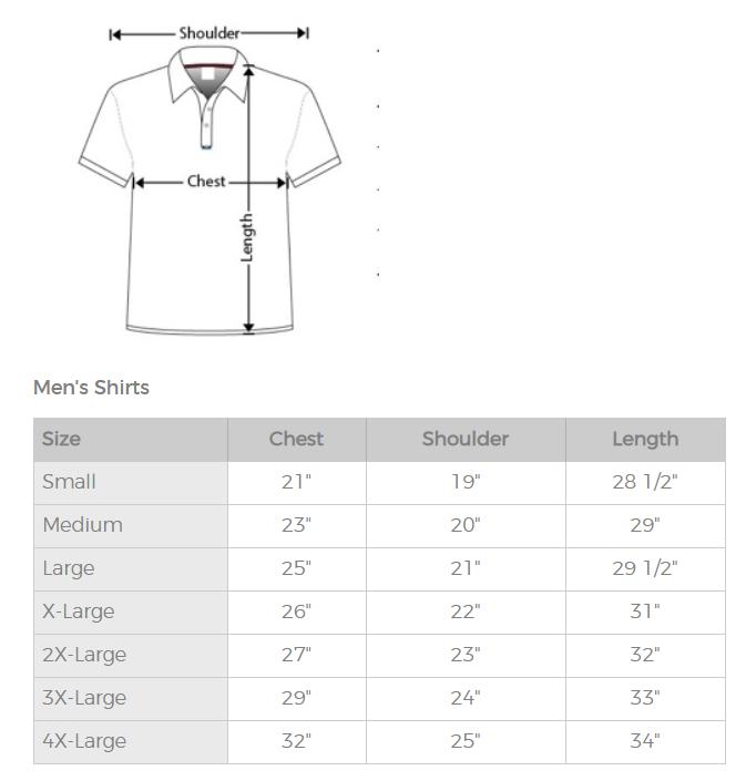 Kalaheo Size Guide