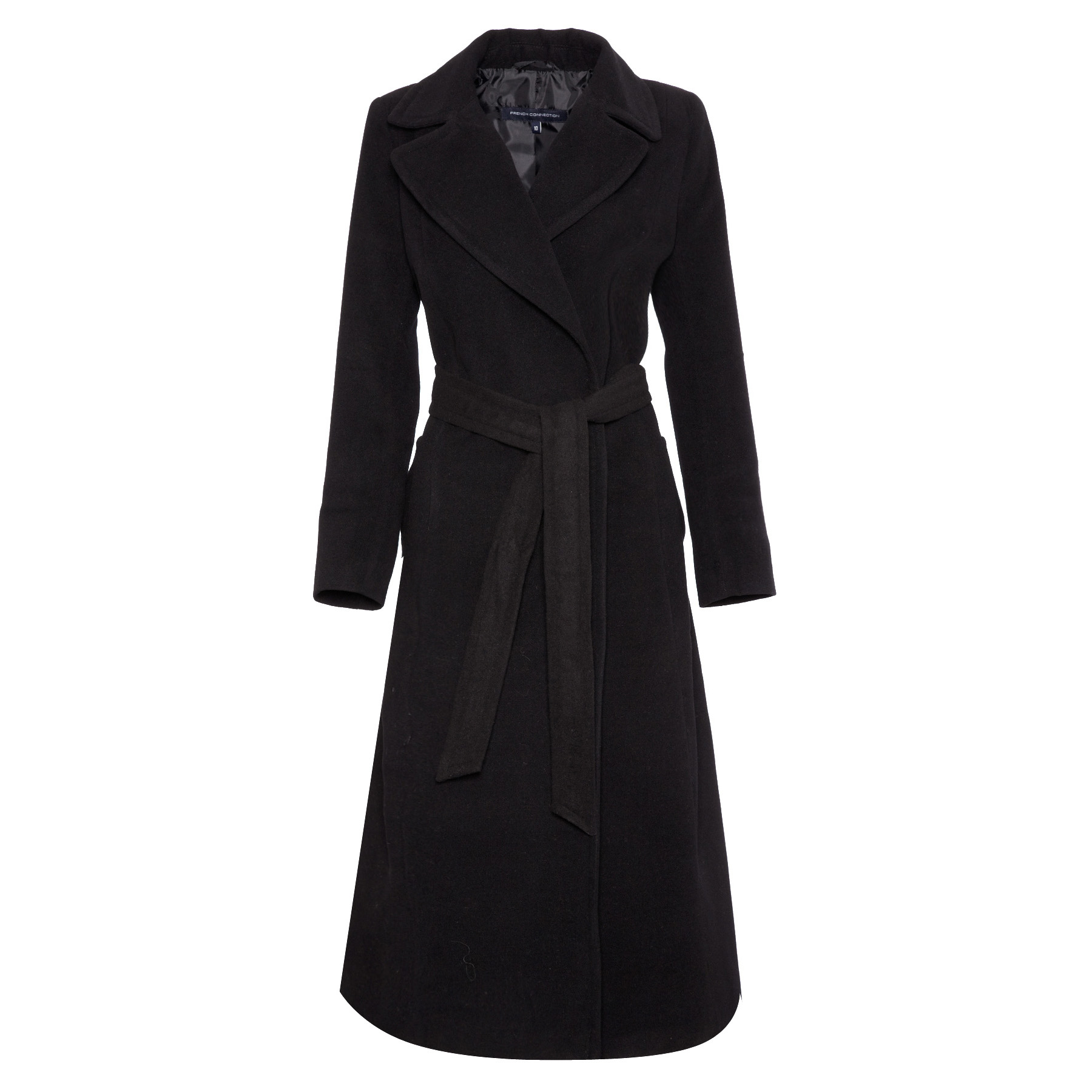 Full length wool coats for women