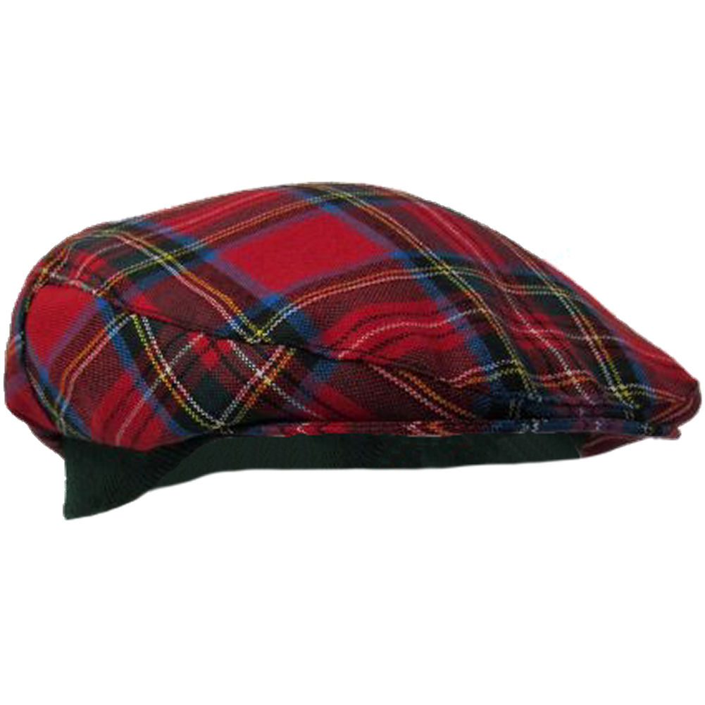 tartan golf cap hat made in scotland 100 wool. Black Bedroom Furniture Sets. Home Design Ideas