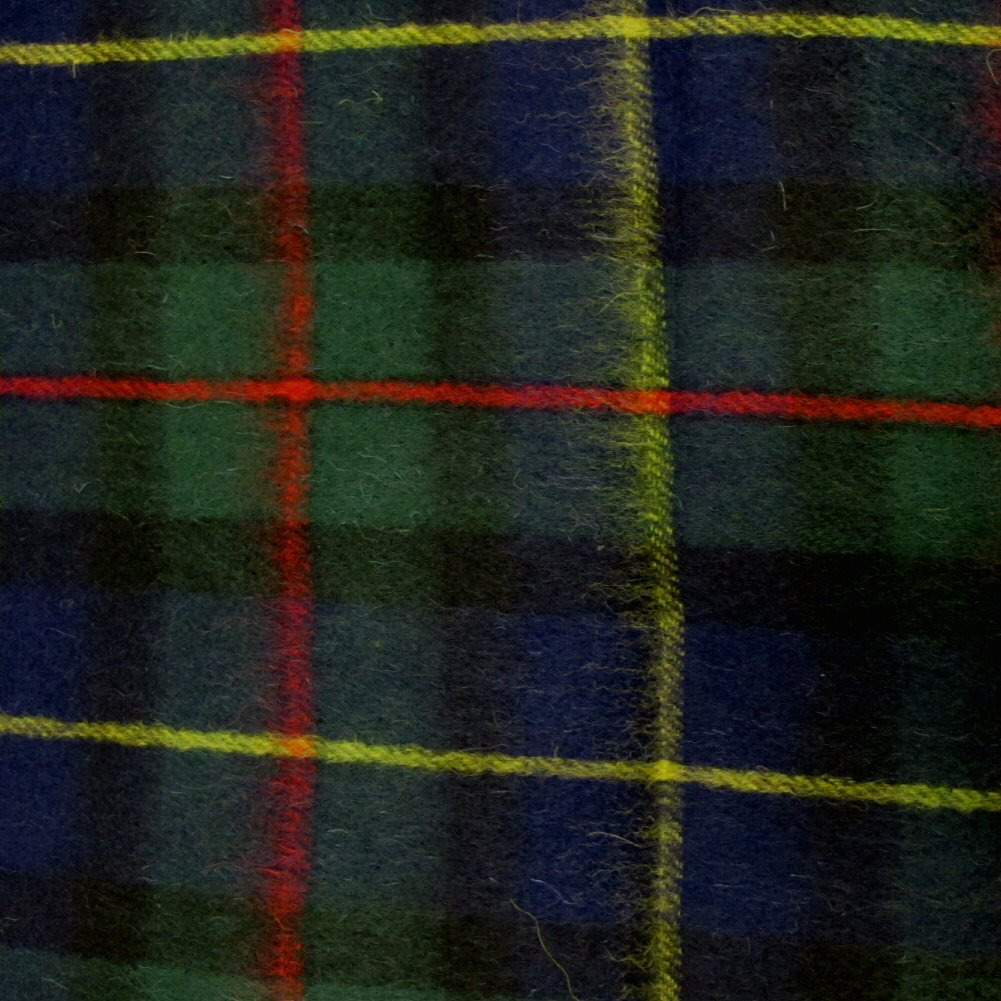 Wool-Scottish-Tartan-Scarf-With-Fringe-14-Colours-60-034-x-12-034-152-x-30cm