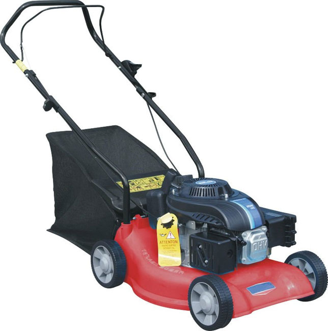 4 75hp Lawn Mower 4 Stroke Hand Push 18 Quot Metal Deck Brand