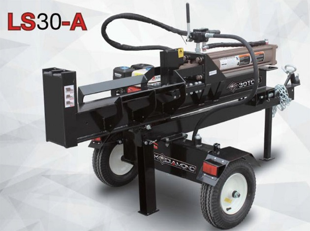 New 30 Ton Hydraulic Log Splitter 6 5hp Petrol Wood