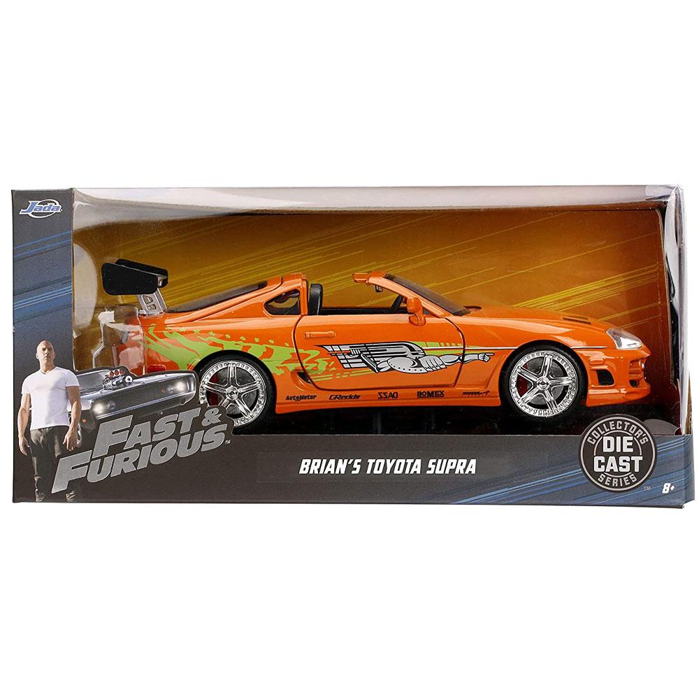 miniatura 9 - Jada Hollywood Rides Fast & Furious 1:24 Modello Diecast Auto Collection