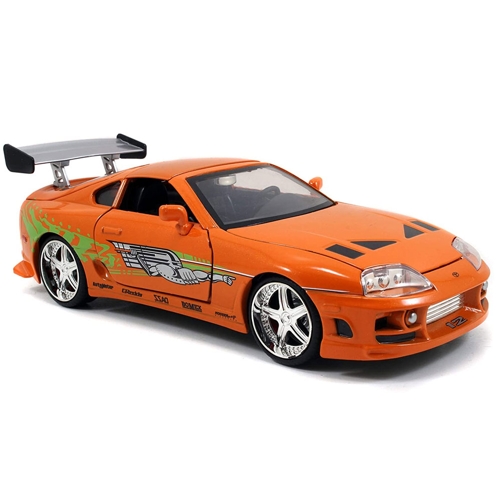 miniatura 10 - Jada Hollywood Rides Fast & Furious 1:24 Modello Diecast Auto Collection