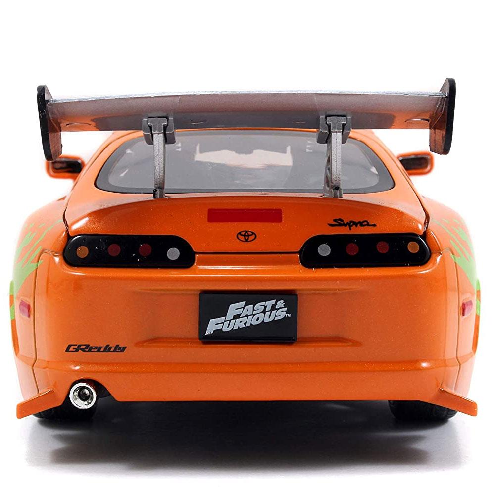 miniatura 12 - Jada Hollywood Rides Fast & Furious 1:24 Modello Diecast Auto Collection