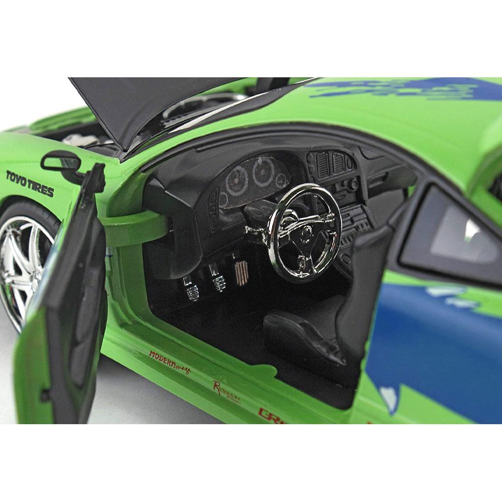 miniatura 7 - Jada Hollywood Rides Fast & Furious 1:24 Modello Diecast Auto Collection