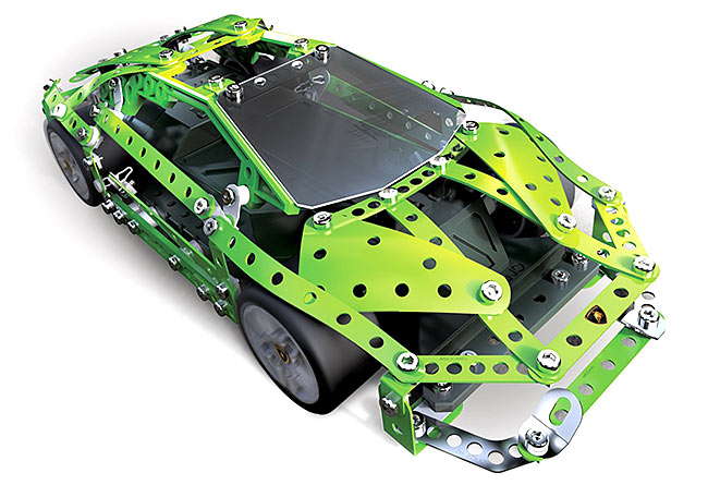 meccano lamborghini huracan rc remote control car kit spinmaster 6028405 ebay. Black Bedroom Furniture Sets. Home Design Ideas