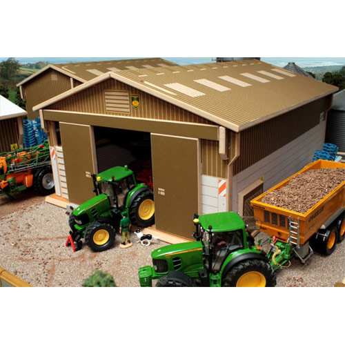 Toy Model Buildings : Brushwood toys farmyard sheds buildings barns scale