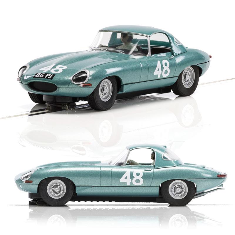 SCALEXTRIC Slot Car Jaguar E Type No.48 C3898A UNBOXED