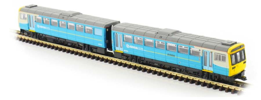 Dapol Class 142 085 Arriva Trains Wales DMU N Gauge DAND116D