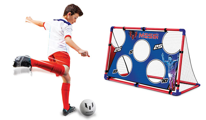 Outdoor Messi Training System Target Goal + Ball + Pump