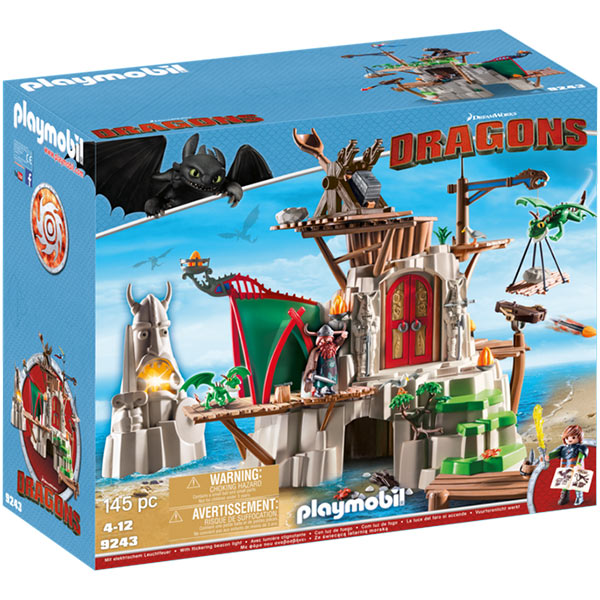 Playmobil berk dragons 9243 how to train your dragon ebay - Toutes les maisons playmobil ...