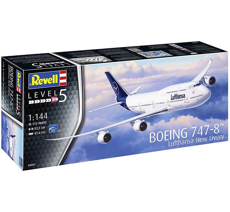Revell-1-144-Civilian-Aircraft-Plastic-Model-Kit-Kit-Choice thumbnail 8