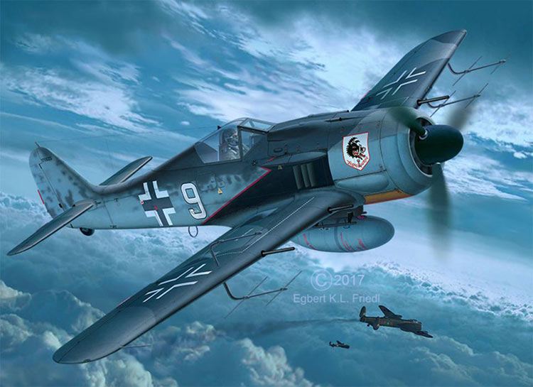 REVELL-Military-Aircraft-Plastic-Model-Kit-1-32-Scale-Kit-Choice miniatuur 14