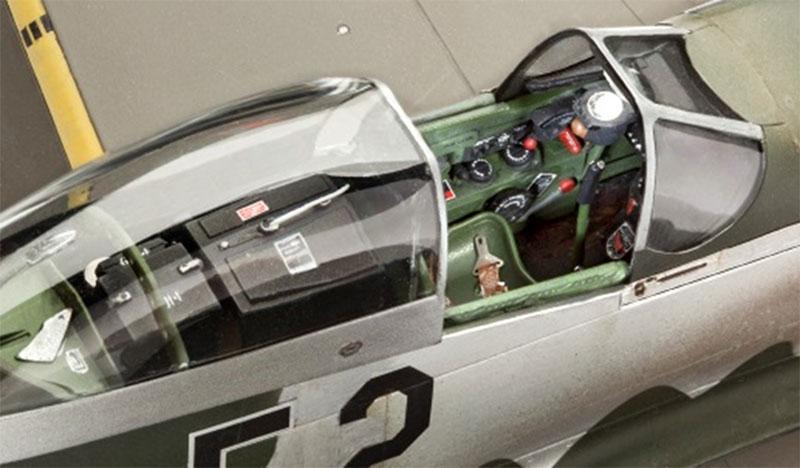 REVELL-Military-Aircraft-Plastic-Model-Kit-1-32-Scale-Kit-Choice miniatuur 22