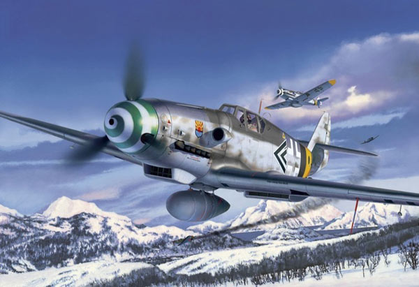REVELL-Military-Aircraft-Plastic-Model-Kit-1-32-Scale-Kit-Choice miniatuur 30