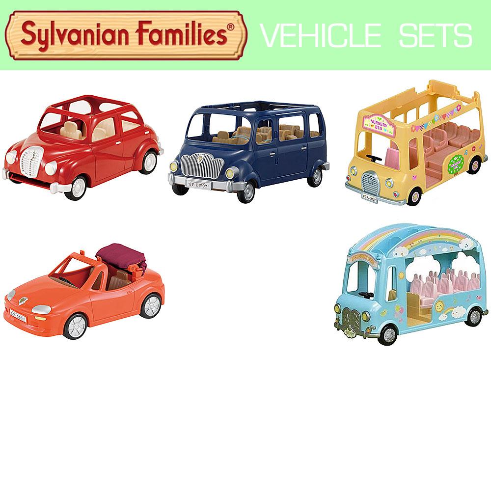 SYLVANIAN Families Car Van Bus - Choose A Vehicle
