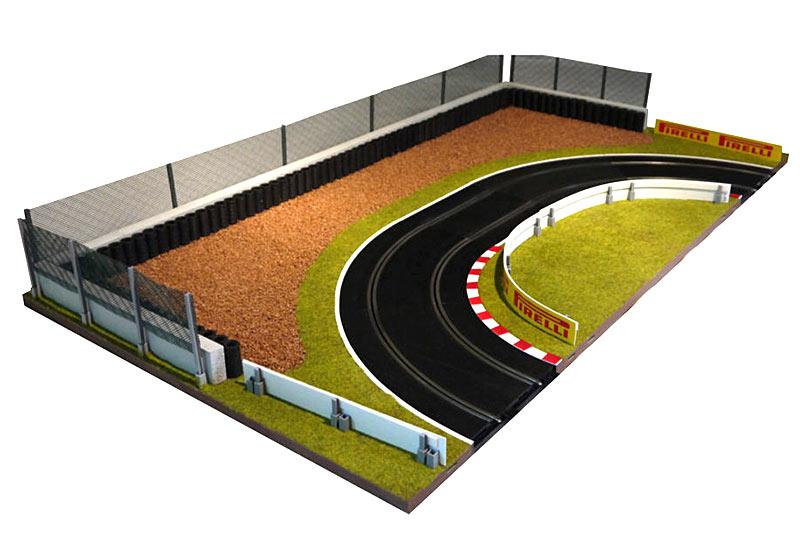 Scalextric-Accesorios-para-1-32-Track-Disenos-barreras-edificios-puentes-placas miniatura 48