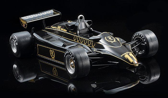 Tamiya Ebbro E012 Team Lotus Type 91 1982 British GP