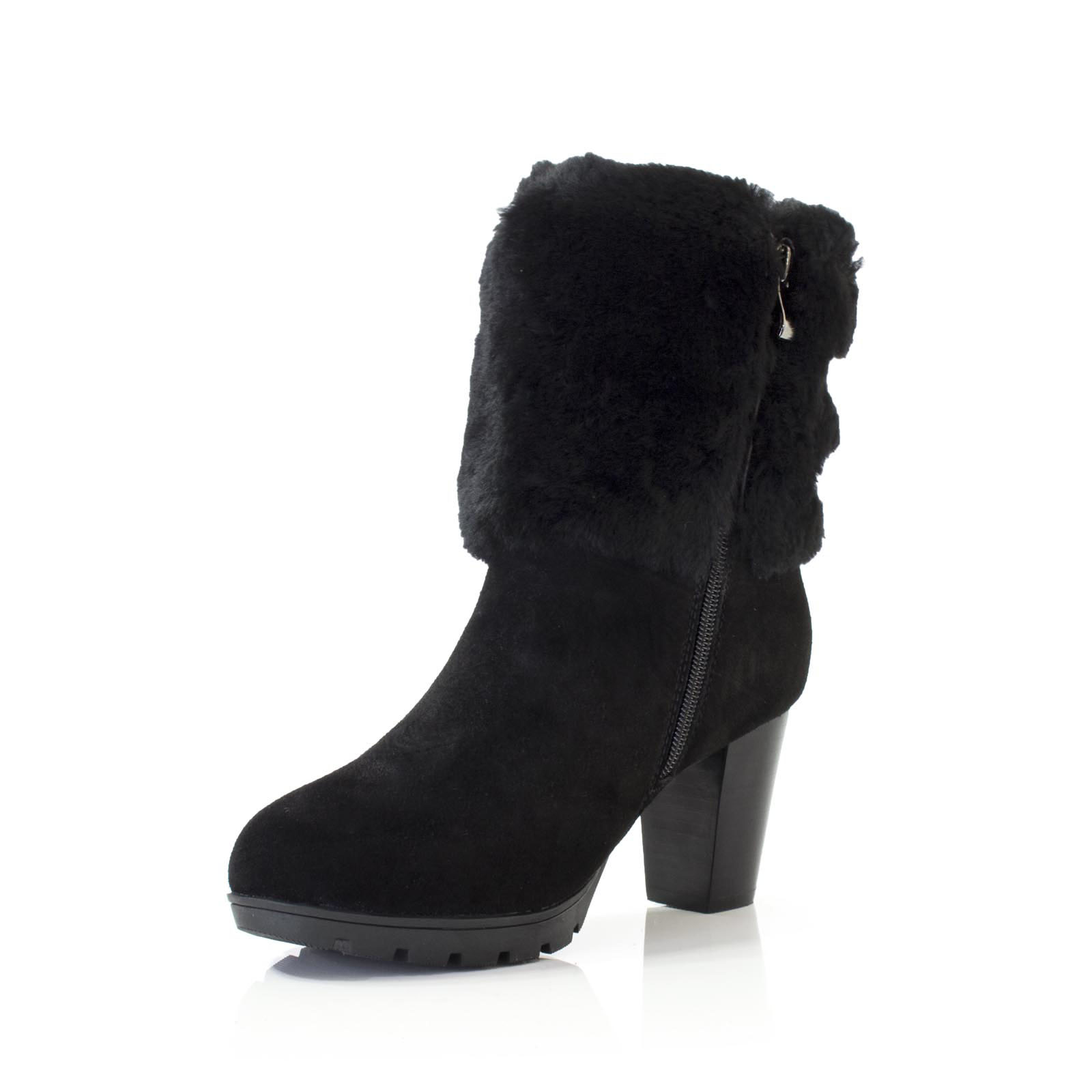 New ugg boots 100 sheepskin ladies high heels candice black brown new ugg boots 100 sheepskin ladies high heels nvjuhfo Images