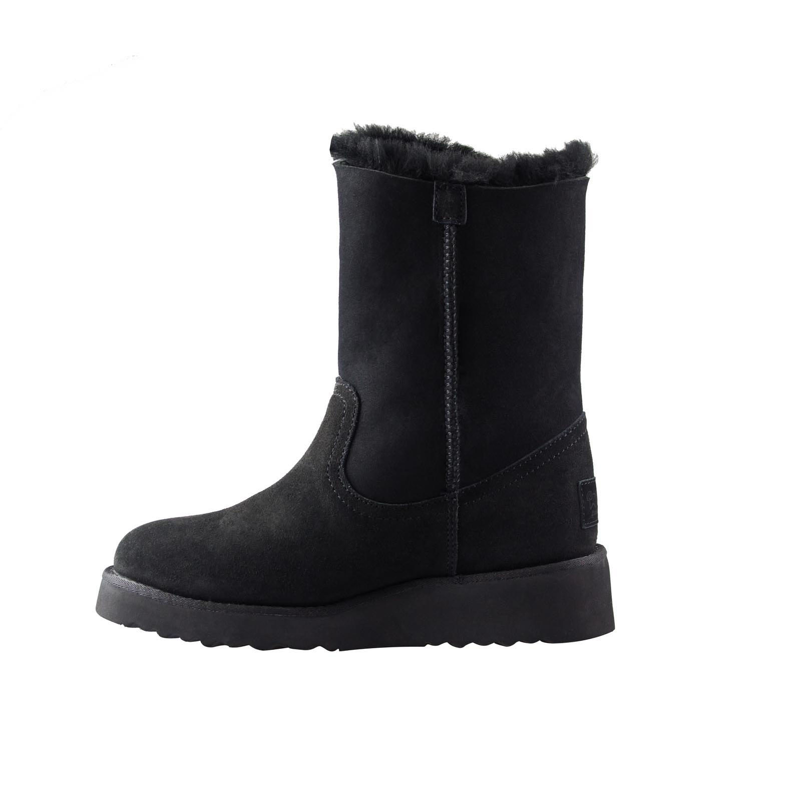 Ugg Boots Sheepskin Stylish Side Zipper Australian Ladies